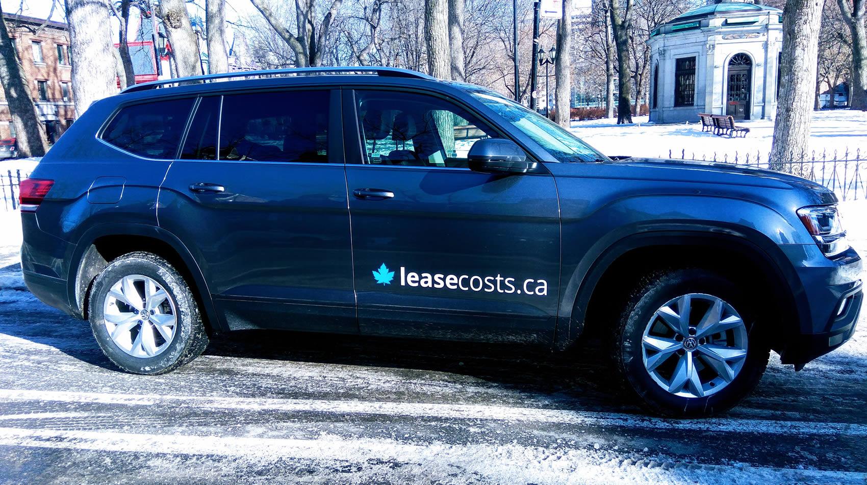 volkswagen atlas sales  canada     leasecosts canada