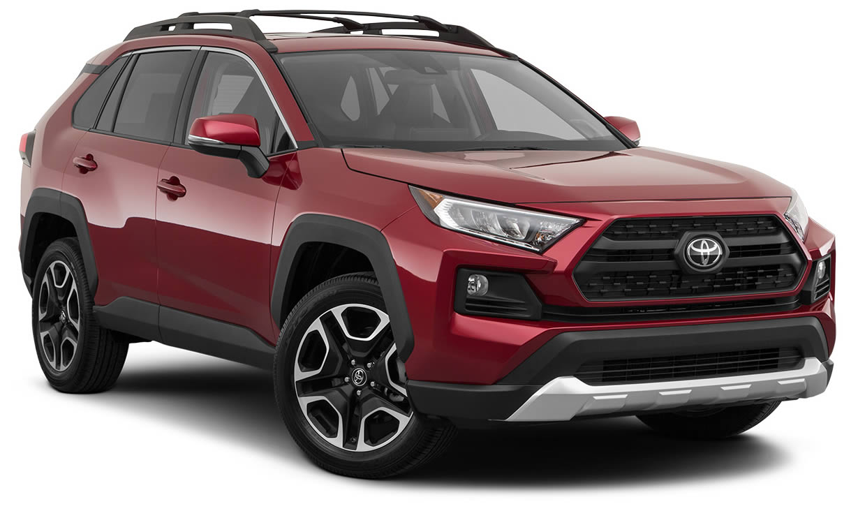 2020 SUV Under 350 CAD per Month in Canada: Toyota RAV4