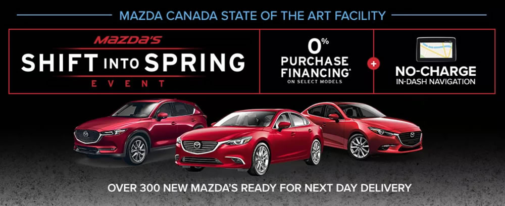 Best Ottawa Car Deals: Mazda Deals
