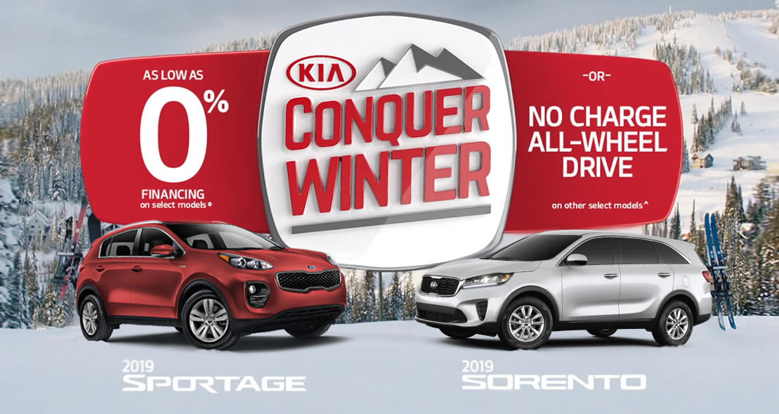 Best New Car Deals in Ottawa: KIA No-charge AWD Specials