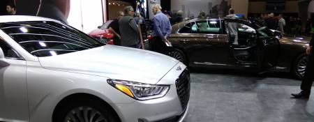 Getting ready for the 2017 Montreal Auto Show