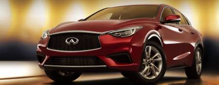 The New 2018 Infiniti QX30