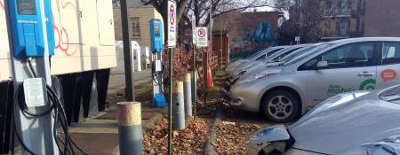 Electric Vehicle Charge Stations in Quebec