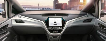 General Motors Unveils Car with No Steering Wheel or Pedals