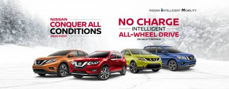 Nissan Canada has No Charge AWD Upgrade in January 2018!