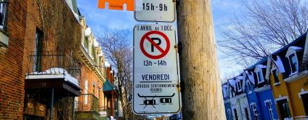 Street Parking Montreal: Understanding the Signs
