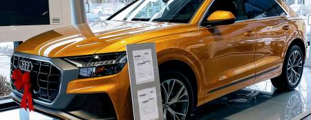 Test Driving the All-new Audi Q8 in Montreal