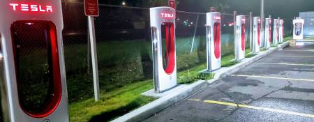 Tesla Charging Stations in Canada