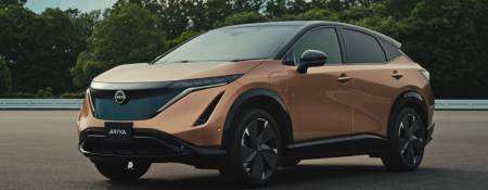 The new 2022 Nissan Ariya EV Crossover