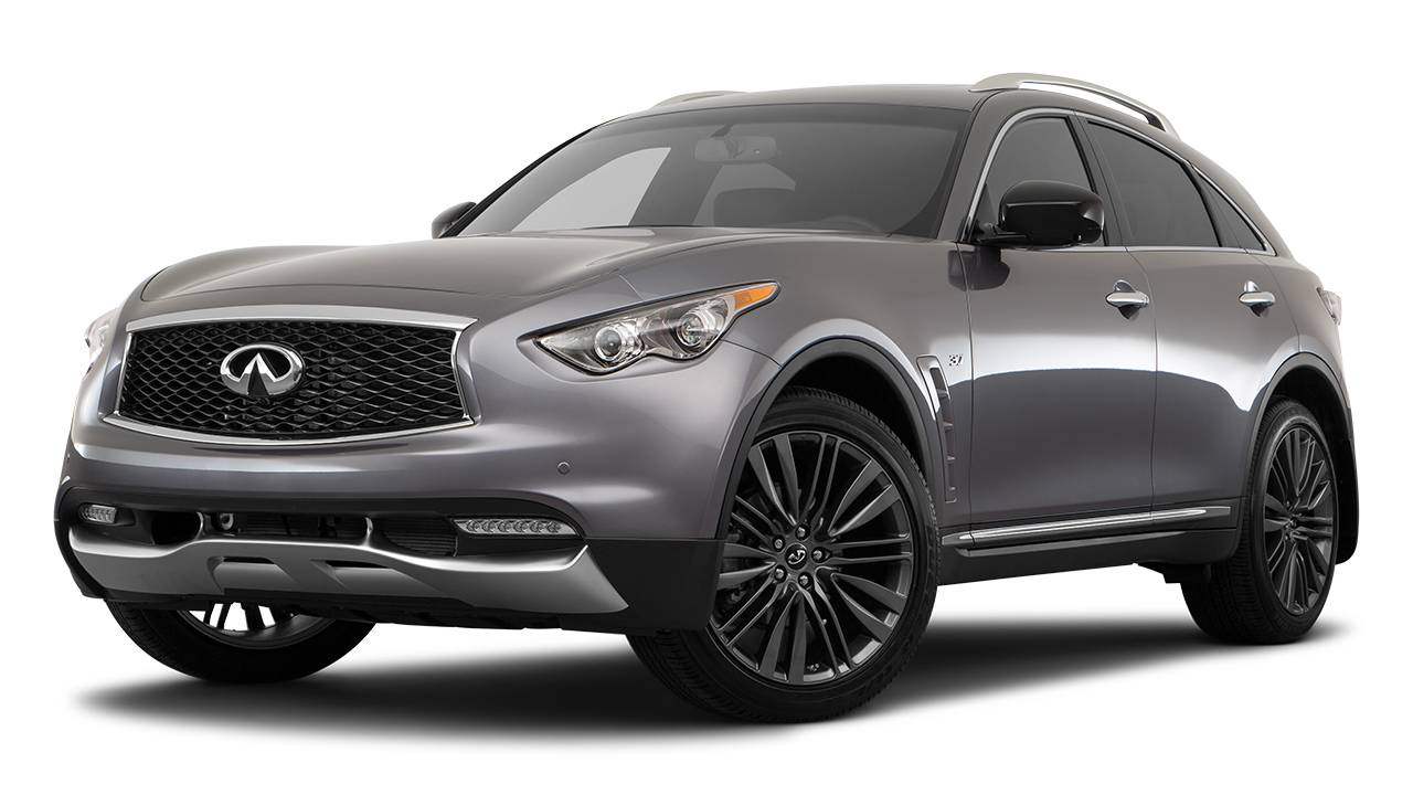 Lease a 2017 Infiniti QX70 Automatic AWD in Canada ...