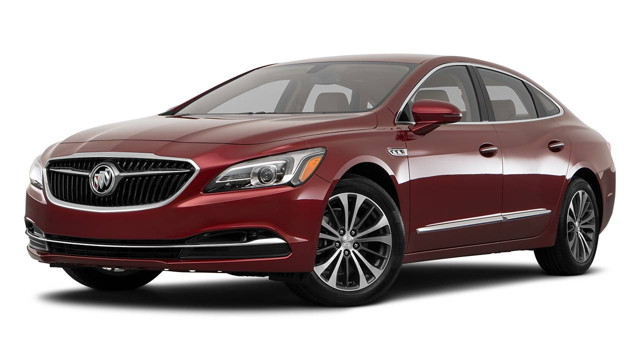 Lease A 2018 Buick Lacrosse Automatic 2wd In Canada