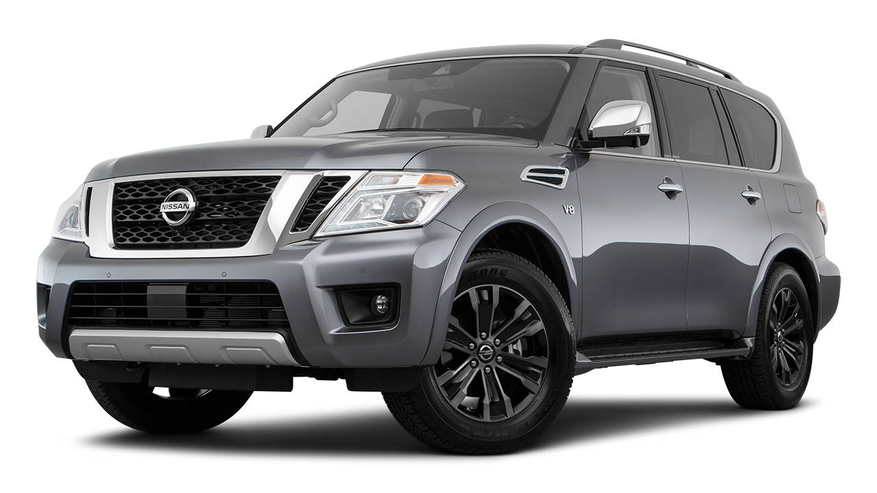Lease A 2018 Nissan Armada Sl Automatic Awd In Canada