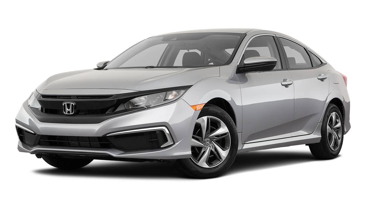 Lease A 2020 Honda Civic Lx Sedan Cvt 2wd In Canada Leasecosts Canada