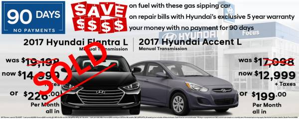 Focus Hyundai - All New Vehicle Specials up to $7,466 Savings