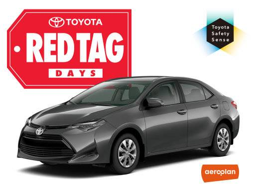 Spinelli Toyota - Toyota Corolla Deals in Montreal: $191 per month
