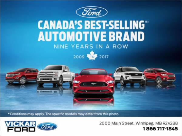 Vickar Ford - Ford Monthly Sales Event!!!