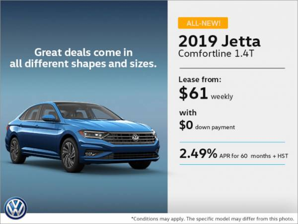 Yorkdale VW Toronto - Get the 2019 Jetta today!