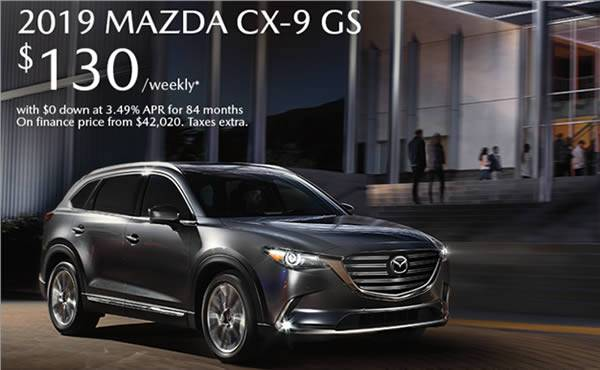 Destination Vancouver Mazda - 2021 Mazda CX-9 available at 3.49% APR for 84 months