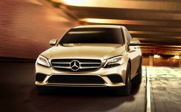 Mercedes-Benz Vancouver - 2021 C300 4MATIC Sedan starting at 3.9% Lease x 45 months