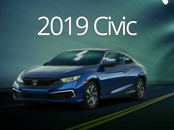 Honda Calgary - 2019 Civic starting at 0.99% lease and finance rates