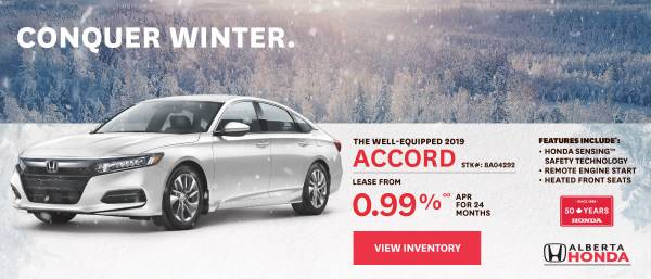 Wheaton Honda - 2021 Accord lease starting at 0.99%