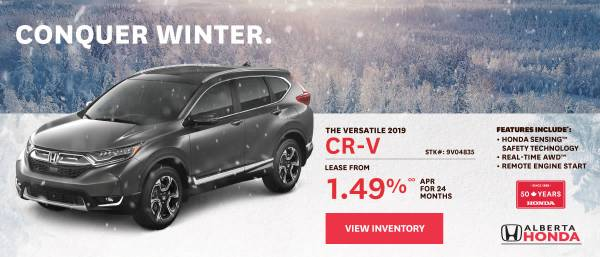 Wheaton Honda - 2021 CR-V lease starting at 1.49%
