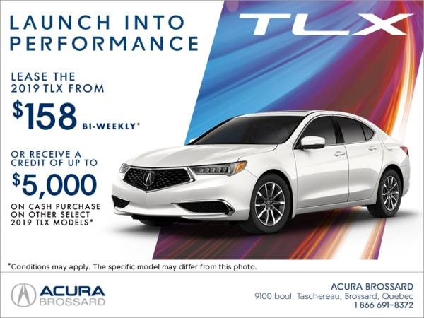 Acura Brossard - Lease the 2019 Acura TLX Today!
