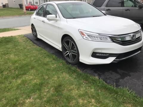 Lease Takeover In Halifax Ns 2017 Honda Accord Touring