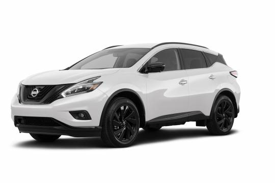 Lease Takeover in Canmore, AB: 2018 Nissan Murano Platinum Edition CVT AWD ID:#4061