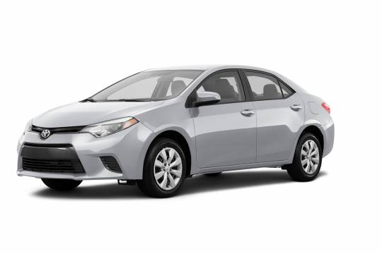 Lease Takeover in Calgary: 2016 Toyota Corolla Le CVT Automatic 2WD