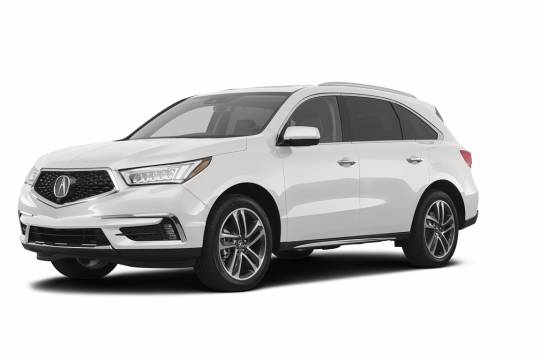 Lease Takeover in Vaughan : 2017 Acura MDX Technology DVD Package Automatic AWD