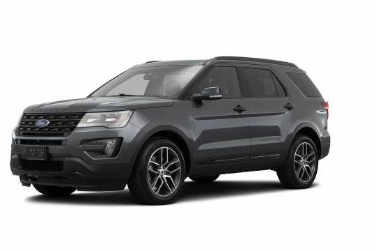 Lease Takeover in Vancouver, BC: 2017 Ford Explorer Sport Automatic AWD