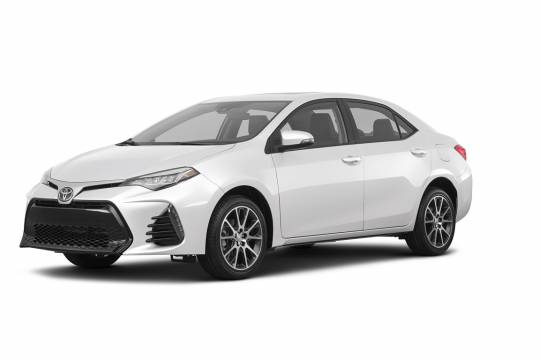 Lease Takeover in Calgary, AB: 2017 Toyota Corolla SE Automatic 2WD ID:#3717