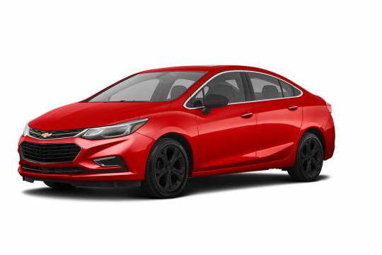 Lease Takeover in Brampton, ON: 2018 Chevrolet Cruze LT Redline Edition Automatic 2WD