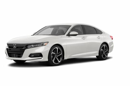 Lease Takeover in Abbotsford, BC: 2018 Honda Accord 2.0 Sport Automatic 2WD ID:#3873