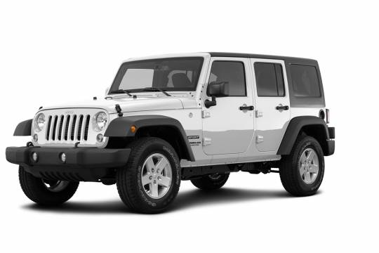 Lease Takeover in Windsor, ON: 2018 Jeep Wrangler JK Unlimited Automatic AWD ID:#4053