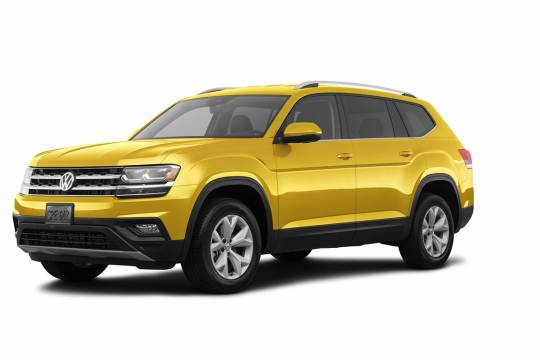 Lease Takeover in Edmonton, AB: 2018 Volkswagen Atlas Trendline 4MOTION Automatic AWD