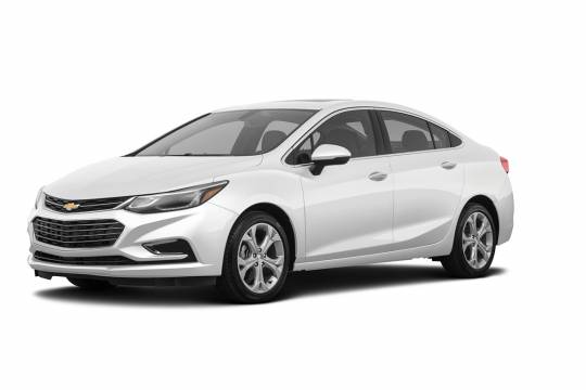 Chevrolet Lease Takeover in Powell River, BC: 2018 Chevrolet Cruze Hybird Automatic AWD