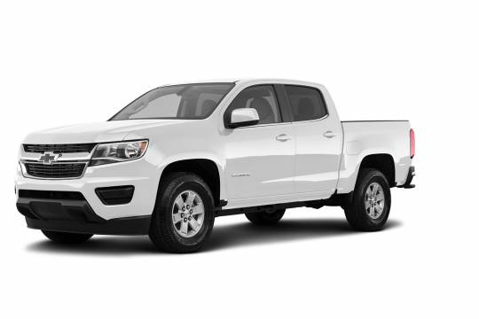 Lease Takeover in Vancouver, BC: 2018 Chevrolet Colorado WT Automatic 2WD