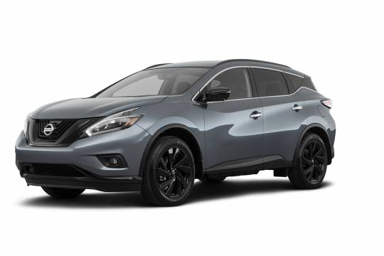 Nissan Lease Takeover in Vancouver, BC: 2018 Nissan Murano SL Midnight Edition Automatic AWD