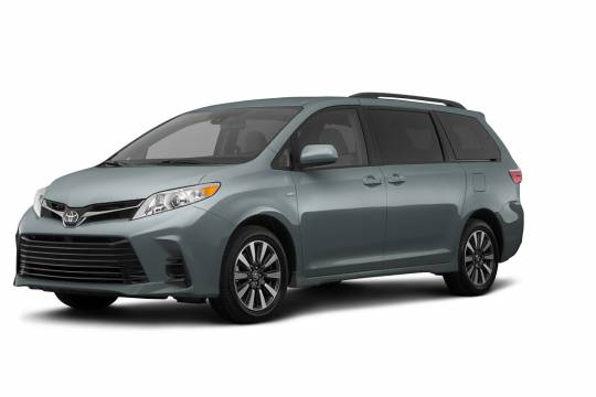 Toyota Lease Takeover in Winnipeg, MB: 2018 Toyota Sienna LE Automatic AWD