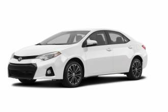Toyota Lease Takeover in Winnipeg, MB: 2016 Toyota Corolla S CVT 2WD