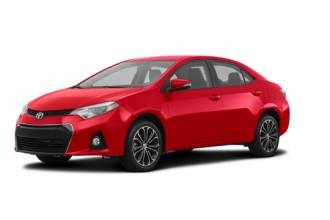 Toyota Lease Takeover in Halifax, Nova Scotia: 2016 Toyota Corolla S Manual 2WD
