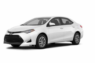 Toyota Lease Takeover in Montreal, QC : 2018 Toyota Corolla LE CVT Automatic 2WD