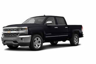 Chevrolet Lease Takeover in Ottawa, ON: 2017 Chevrolet Silverado LTZ Automatic AWD