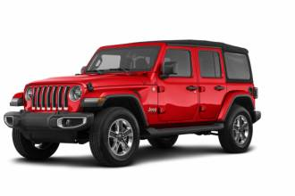 Jeep Lease Takeover in Toronto, Ontario: 2019 Jeep Wrangler Sahara Unlimited 4WD Automatic AWD