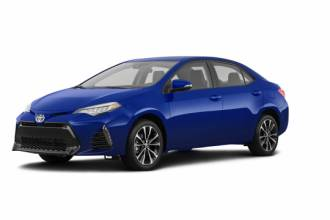 Lease Transfer Toyota Lease Takeover in Winnipeg, MB: 2018 Toyota Corolla CVT 2WD