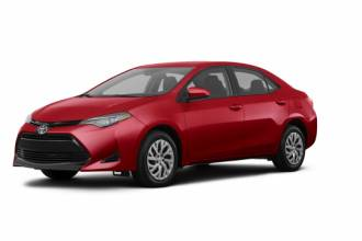 Lease Transfer Toyota Lease Takeover in Montreal, QC: 2018 Toyota Corolla LE Automatic 2WD