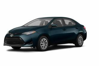 Lease Transfer Toyota Lease Takeover in Toronto, ON: 2018 Toyota Corolla LE CVT 2WD