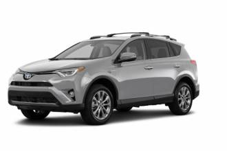 Lease Transfer Toyota Lease Takeover in Brampton, ON: 2018 Toyota RAV4 Hybrid Limited Automatic AWD